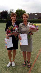 Miek en Chantal korfbaltrainer 3