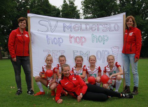 Korfballers SV Melderslo E1 kampioen