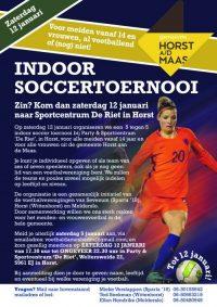 Indoor Soccertoernooi HadM