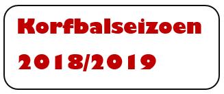 korfbalseizoen 2018-2019