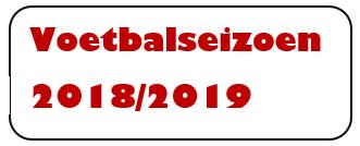 voetbalseizoen 2018-2019