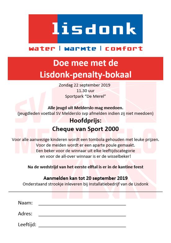 Lisdonk penalty bokaal