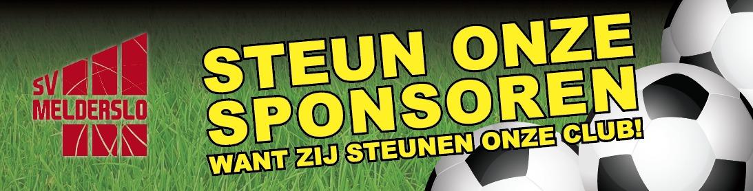 Steun onze sponsoren SV Melderslo