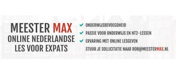 Meester Max website